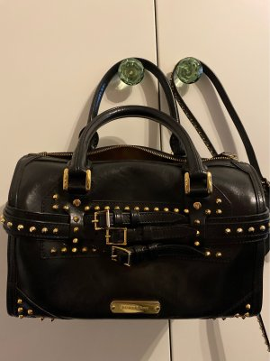 Burberry Bowling Bag black leather