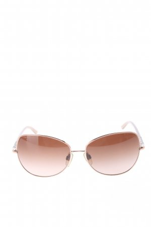 Burberry Brille goldfarben Casual-Look