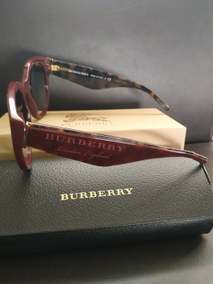 Burberry Bril bordeaux-braambesrood