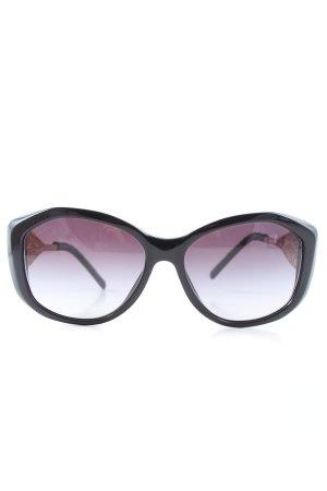 Burberry Okulary czarny-złoto W stylu casual