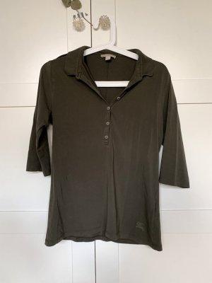 Burberry Brit Polo Shirt dark green cotton