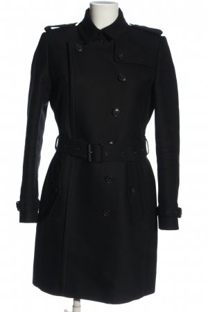 Burberry Brit Trench Coat black casual look