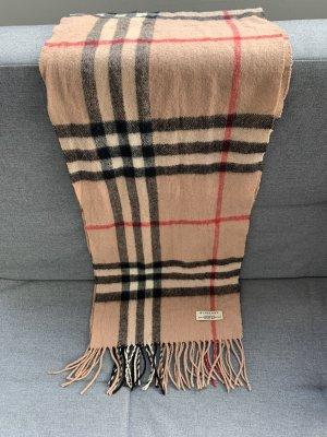 Burberry Wollen sjaal veelkleurig Scheerwol