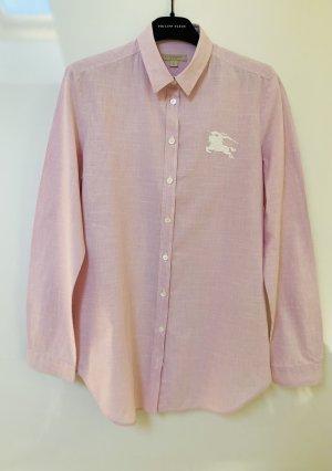 Burberry Brit Long Sleeve Shirt light pink cotton