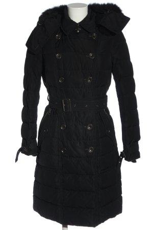 Burberry Brit Piumino nero motivo trapuntato stile casual