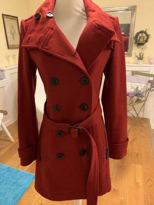 Burberry Brit Duffle-coat rouge carmin