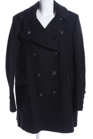 Burberry Brit Duffel Coat black business style