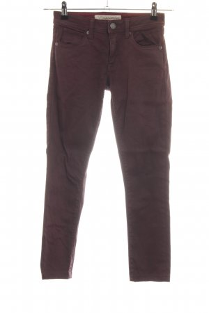 Burberry Brit Five-Pocket-Hose braun Casual-Look