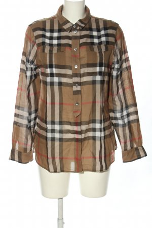 Burberry Brit Hemd-Bluse Karomuster Casual-Look