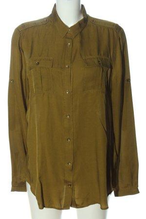 Burberry Brit Hemdblouse khaki casual uitstraling