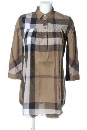 Burberry Brit Shirtwaist dress check pattern casual look