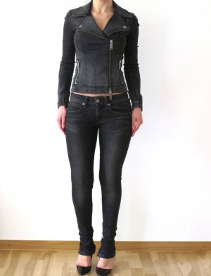Burberry Skinny Jeans anthracite cotton