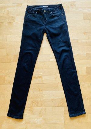 Burberry Brit Jeans slim fit nero Cotone