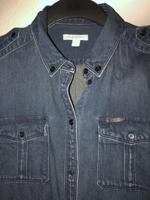 Burberry Brit Denim Shirt dark blue