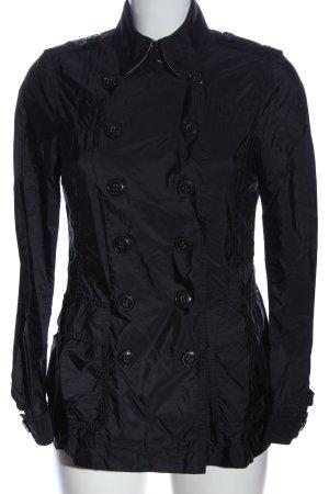 Burberry Brit Short Coat black casual look