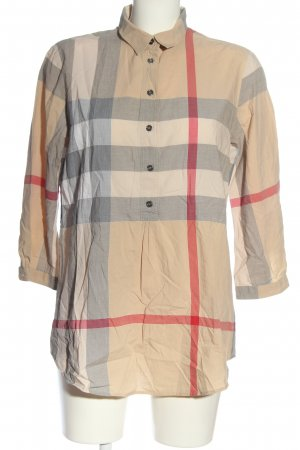 Burberry Brit Long Sleeve Blouse check pattern casual look
