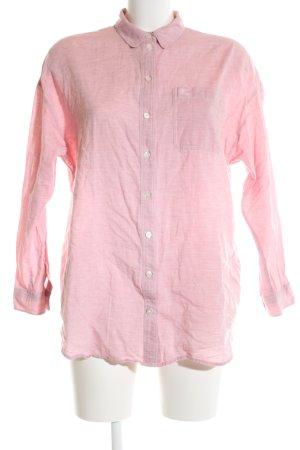 Burberry Brit Langarmhemd pink meliert Casual-Look