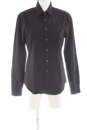 Burberry Brit Long Sleeve Shirt black business style