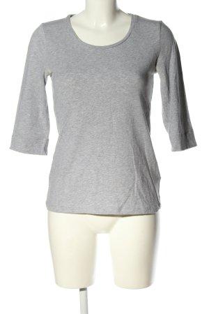 Burberry Brit Manica lunga grigio chiaro puntinato stile casual