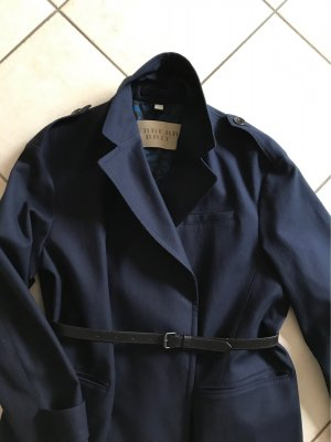 Burberry Brit Trench Coat dark blue