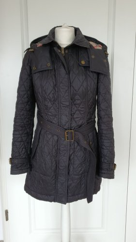 Burberry Manteau matelassé multicolore
