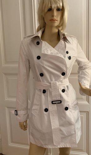 Burberry Brit Trench Coat white nylon