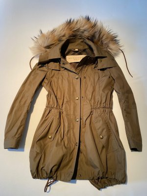 Burberry Brit Parka multicolore coton