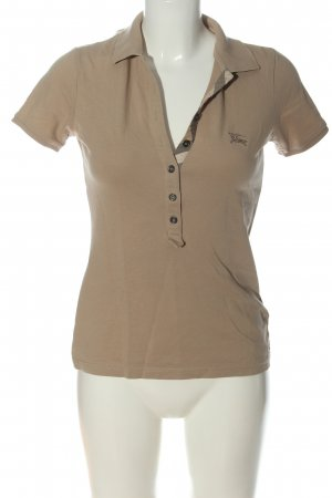 Burberry Brit Polo Shirt brown casual look