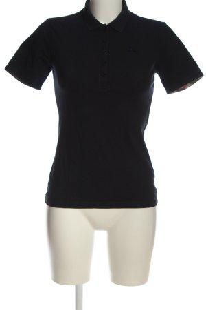 Burberry Brit Koszulka polo czarny W stylu casual