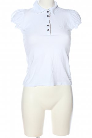 Burberry Brit Polo-Shirt weiß Casual-Look