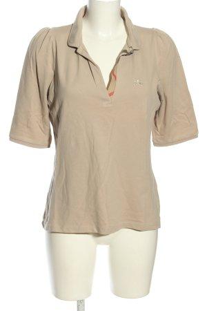 Burberry Brit Polo-Shirt hellgrau Casual-Look
