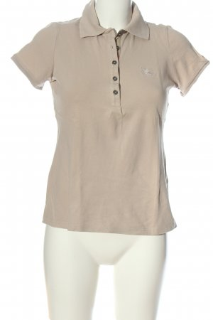 Burberry Brit Polo-Shirt creme Casual-Look