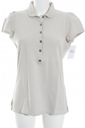 Burberry Brit Polo Shirt oatmeal classic style