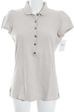 Burberry Brit Polo beige chiaro stile classico