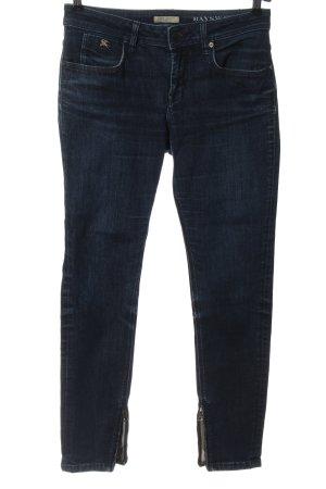 Burberry Brit Jeans a sigaretta blu stile casual