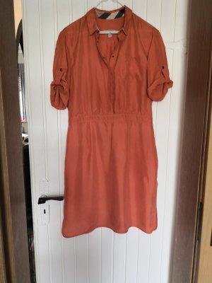 Burberry Brit Jurk met korte mouwen oranje