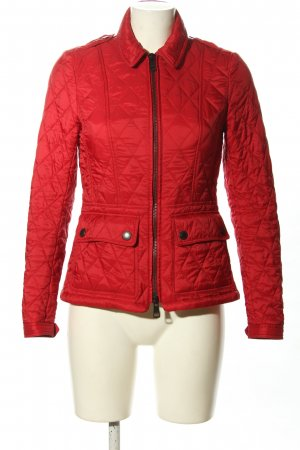 Burberry Brit Steppjacke rot Steppmuster Casual-Look