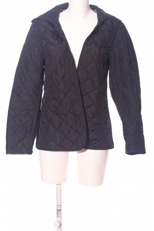 Burberry Brit Quilted Jacket black quilting pattern casual look