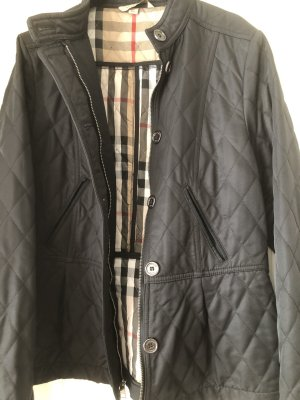 Burberry Brit Quilted Jacket multicolored cotton