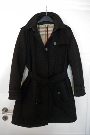 Burberry Brit Steppmantel schwarz Trenchcoat Mantel Gr42/XL 44/XXL