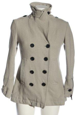 Burberry Brit Cappotto a maglia grigio chiaro stile professionale