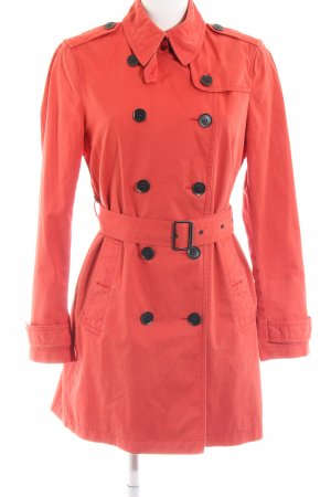 Burberry Brit Trench rosso stile casual