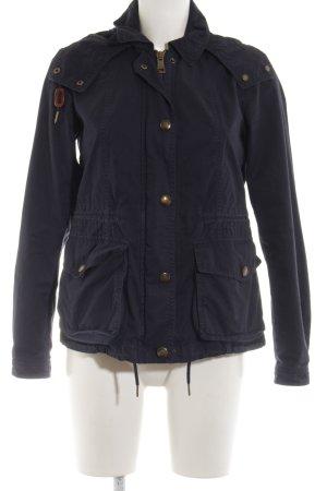 Burberry Brit Between-Seasons Jacket blue casual look