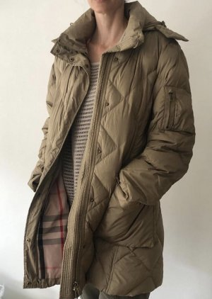 Burberry Brit Winter Jacket gold-colored polyester