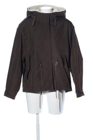 Burberry Brit Giacca invernale marrone stile casual