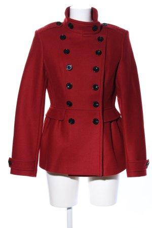 Burberry Brit Giacca di lana rosso stile professionale