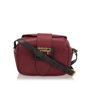 Burberry Buckle Leather Crossbody Bag