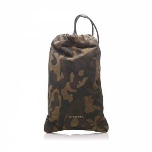 Burberry Camouflage Suede Backpack