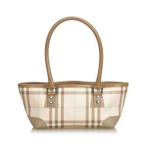 Burberry Candy Check Handbag