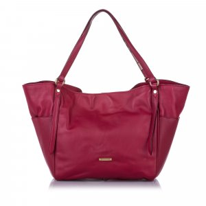 Burberry Canterbury Leather Tote Bag
